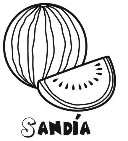 Dibujos De Frutas Y Verduras Para Colorear Tienda Online Veganos