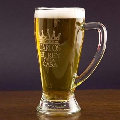 Jarra cerveza personalizable. Día del padre